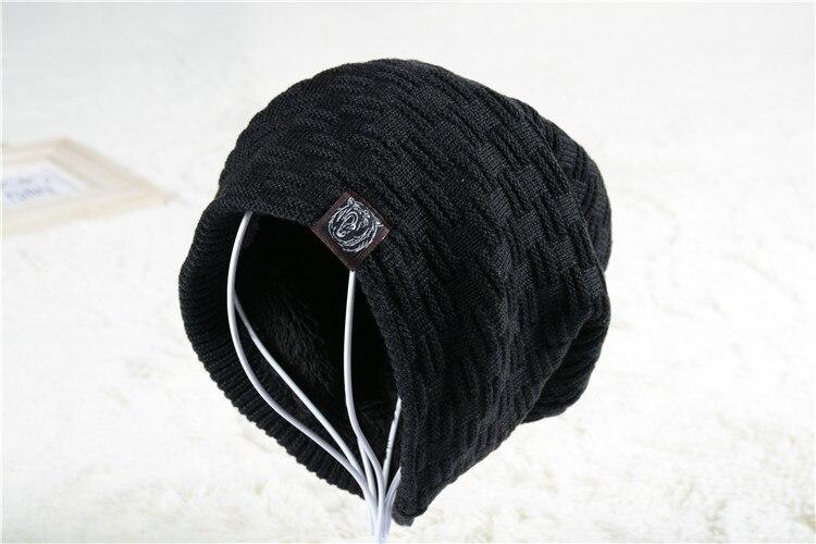 The New bonnet hat men's winter