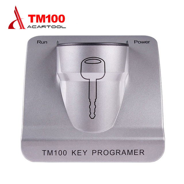 Auto programmer New Release TM100 Transponder Key Programmer with Basic  Module TM 100 Transponder Chip Key Programming-in Auto Key Programmers from