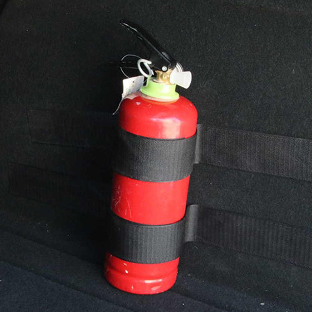 4 Buah/Set Alat Pemadam Api Bagasi Mobil Sabuk Tas Penyimpanan Pita Ajaib Memperbaiki Perban Bracket Stiker Tali Pengikat Mobil Styling