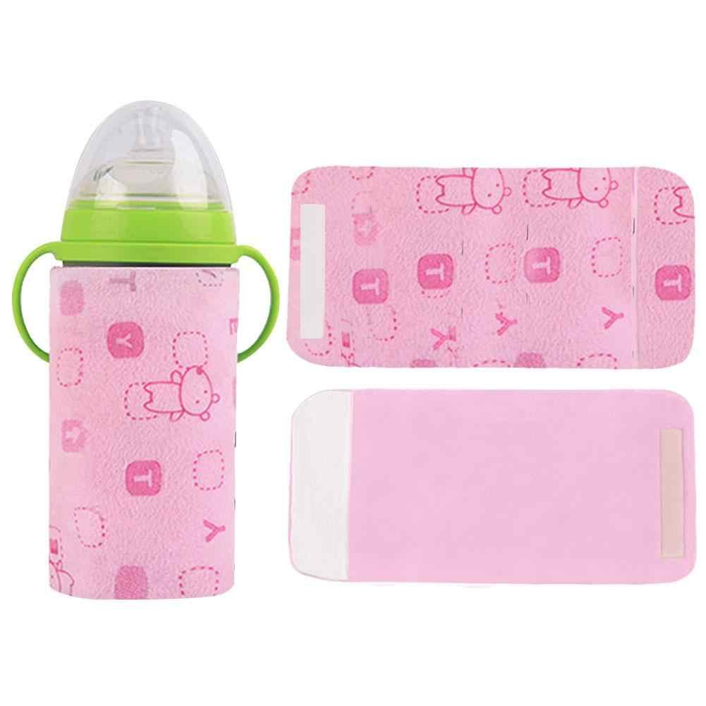 4 цвета USB бутылка теплее изоляции крышка бутылочка для кормления термостат Открытый Портативный Подогрев молока biberon интимные аксессуары