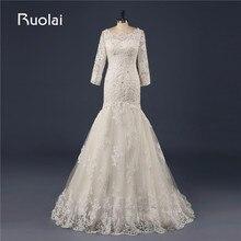 Compra square neck long sleeve wedding dress y disfruta del envío gratuito  en AliExpress.com 39117dc2aba2