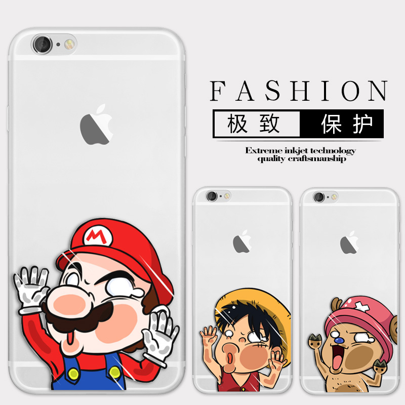 New Arrival Phone Case For Apple iPhone 6/6s Fashion Design Hit the glass Art Painted TPU Soft Case
