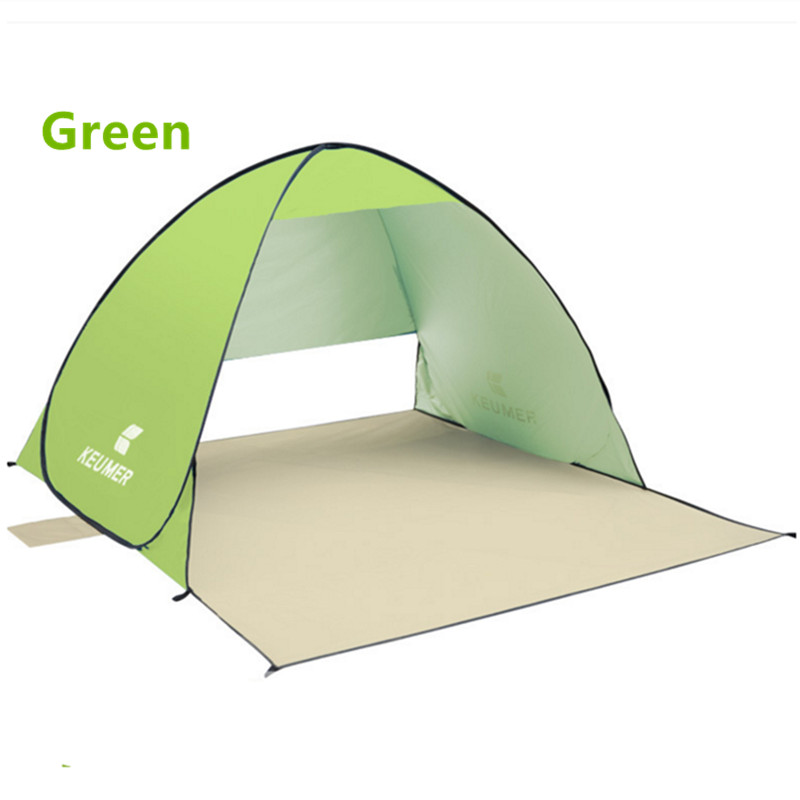 Half Tent Shade Amp Portable Beach Canopy Pop Up Sun Shelter