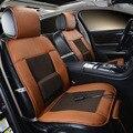 12 V Refrigeração Tampa de Assento Do Carro, Almofada Única Com o Ar Frio E Função de Massagem, alta-Fibra de Couro, Carro-Cobre, Styling Caminhão Sedan
