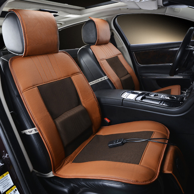 12V Cooling Car Seat CoverSingle Cushion With Cool Air And Massage Function High
