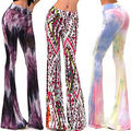 2015 Hot Sexy Womens Skinny Stretchy Pants Jeggings Leggings Flared Bell Trousers