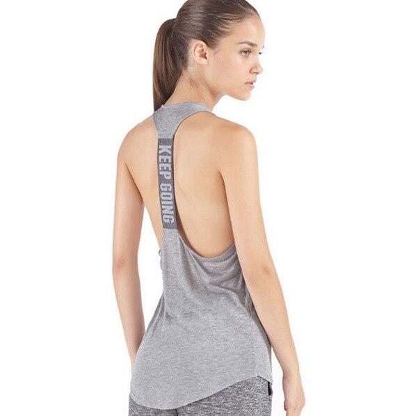 e6c4bf7fe 2016 das mulheres yoga camisas mulher correndo camisa legal ginásio camisas  yoga vestuário fitness tops roupas das senhoras yoga tops feminino Tee