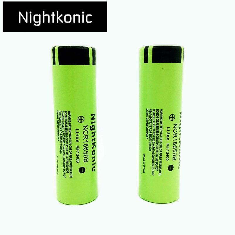 Nightkonic 3 7v 18650 Battery Li Ion Rechargeable Battery