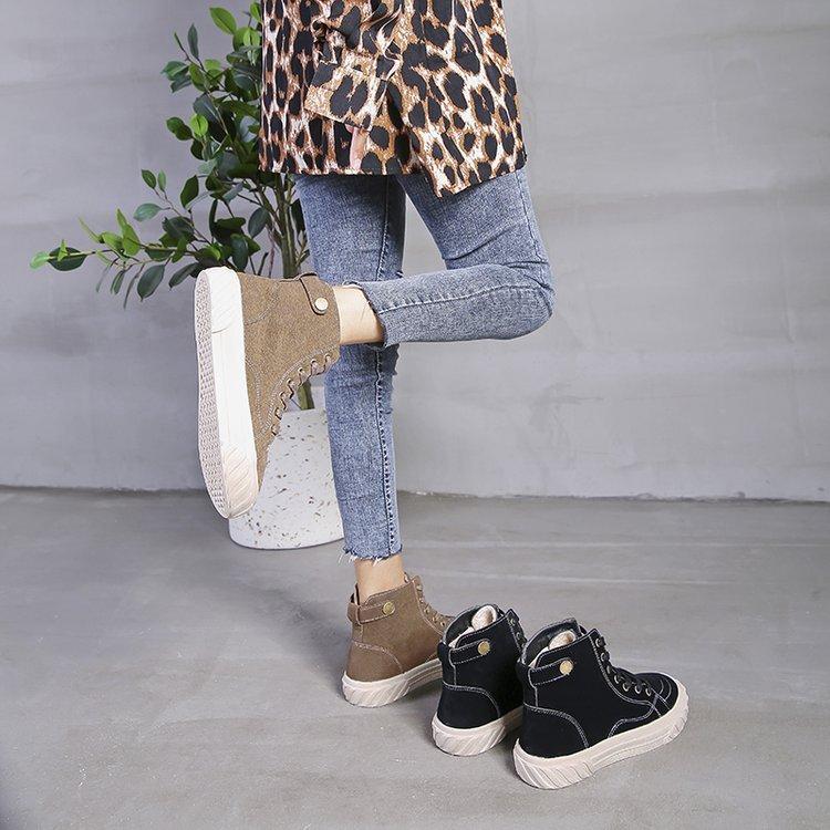 c39e0ce2c81900 Femmes Unie Et Chaussures Noir De 2019 Tendance Mode Chaud Confortable  Plates Casual Simple Nouvelle Couleur ...