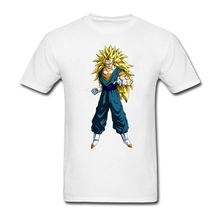 Dragon Ball Z T Shirt Male New Simple Tee Shirts Printed Exercise T-Shirt Men Short Sleeve Round Neck Novelty Teenboys Clothing