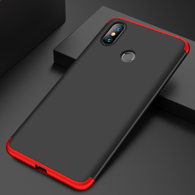 Vpower For Xiaomi mi Max 3 Max3 Case Hard Slim Full Protection Shockproof 3 In 1 Armor Case For Xiaomi Max 3 Matte Cover 6.9''