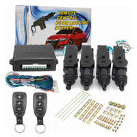 Universal Car Remote Control Central Door Locking System Kits DC 12V Vehicles Anti-theft Alarm Keyless Entry System
