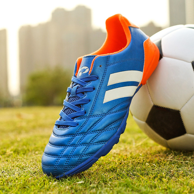 b540c02bf Fires Indoor TF Men Turf Soccer Shoes Sleats futzalki original superfly  futsal Professional Leather football boots 33-45