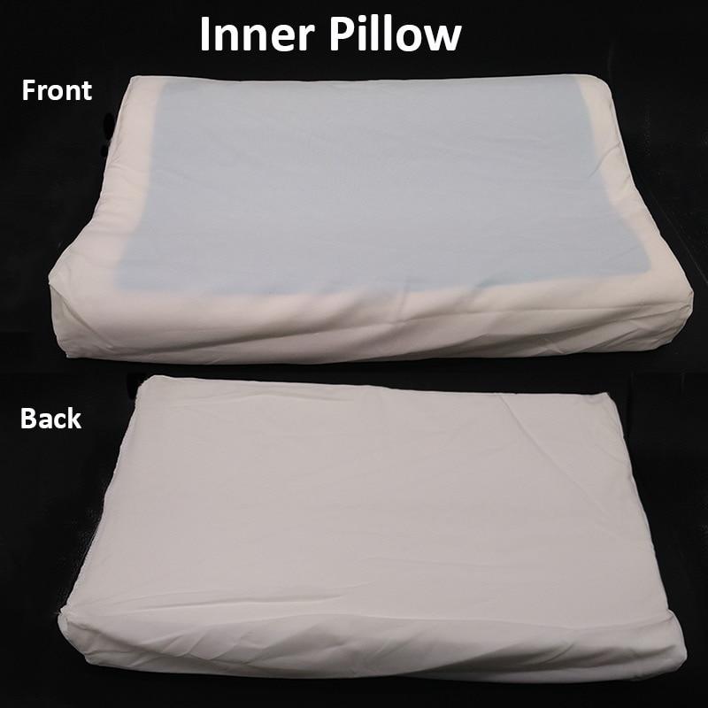 ROYAL EASE Comfort Sleep Cool Gel Pillow Hydrogel Memory Foam Pillow