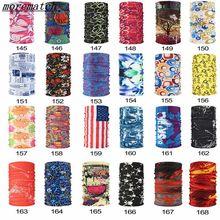 Хиджаб в стиле хип-хоп, многофункциональная бандана, повязка на голову, волшебный шарф для лица, бесшовный трубчатый шарф-кольцо, шарфы унисекс