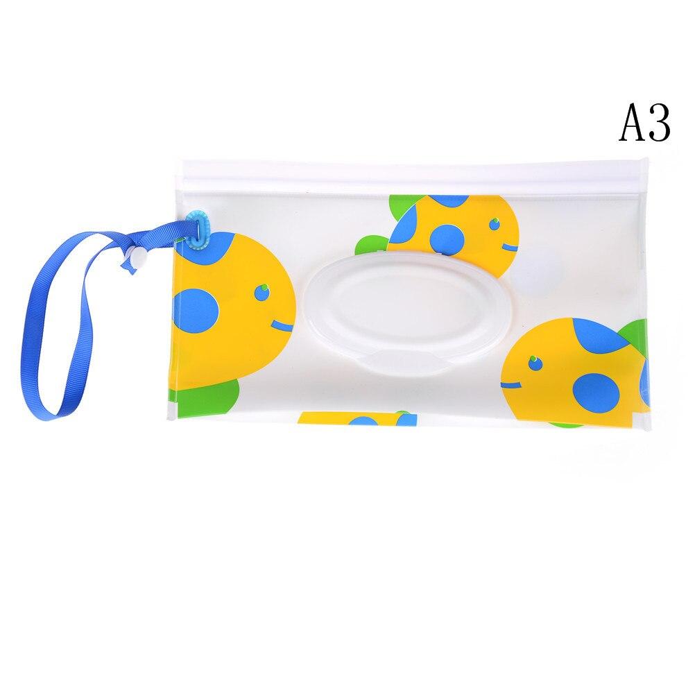 Клатч и чистые салфетки, чехол для переноски, экологически чистые влажные салфетки, сумка-раскладушка, косметичка, удобная для переноски, с застежкой, контейнер для салфеток - Цвет: 9