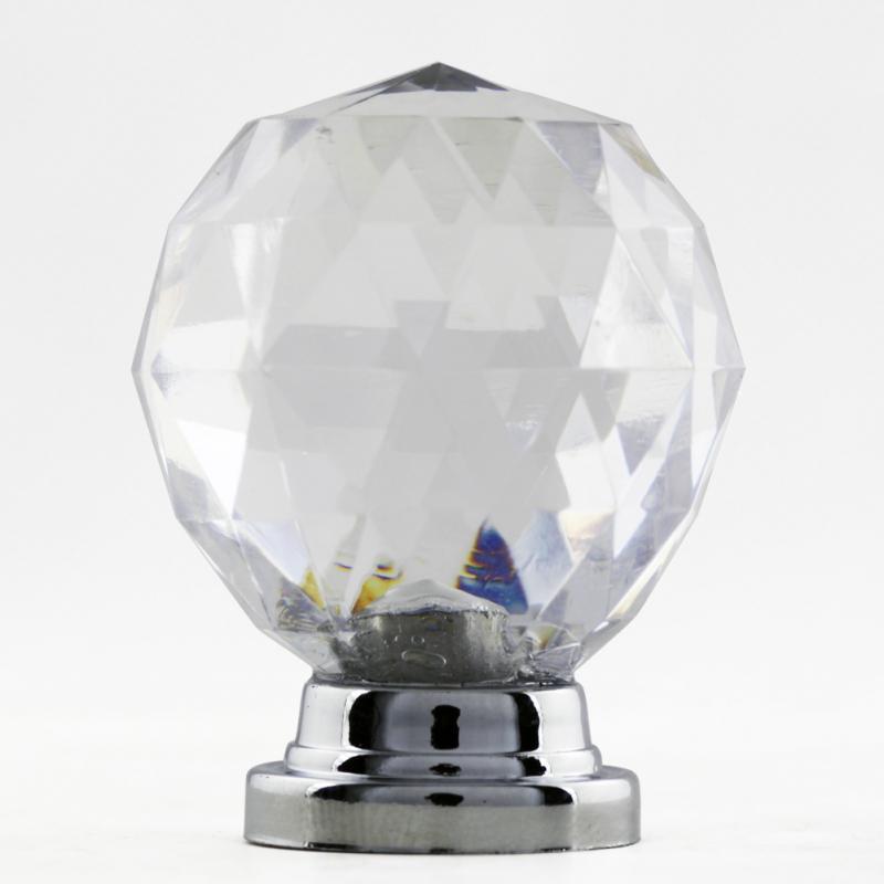 New 10PCS/Set Diam 30mm Round Crystal Glass Ball Design Acrylic Handle Knobs бесплатная доставка горячей продажи smart electronics integrated circuit epm570t144c3 ic max ii cpld 570 le 144 tqfp 570t144 epm570t144 1 шт