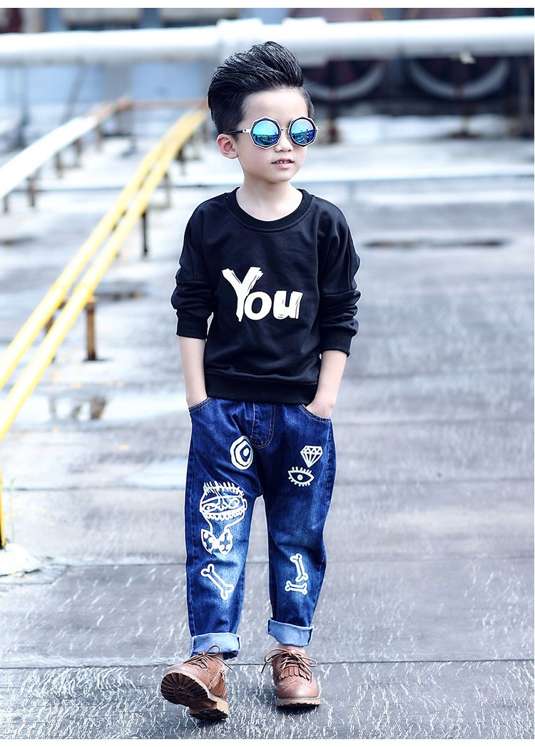 high quality fashion 2017 children jeans for boys kids scrawl pattern denim pants clothing children baby little big boy jeans clothes 6 7 8 9 10 11 12 13 14 15 16 years old (19)