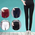 Maternity Clothes Fashion Hot Sale 2016 Cotton Spandex Broadclo Pregnancy Summer Skinny Pants For Pregnant Women Plus Size F019