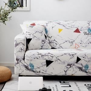 Image 5 - Parkshin geométrico 1/2/3/4 asientos Slipcover Stretch sofá cubre muebles Protector de poliéster Loveseat sofá cubierta toalla