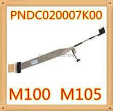 Оригинальный lvds жк кабель для toshiba m100 m105 кабель m100 m105 жк lvds кабель dc020007k00