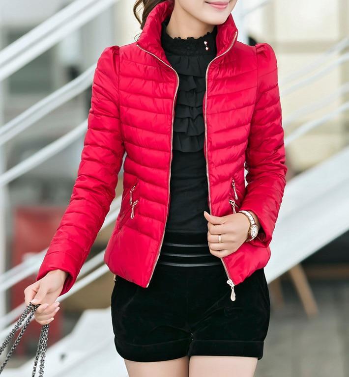 Big Promotion Winter Jacket Women Slim Office Ladies Zippers Plus Size Coats Jaquetas Winter Down&parkas