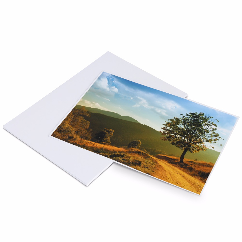 1 Pack A4-Size Color-Rendition Highlighted Photo Paper for Advertising Paper & Wedding Photo & Digital Photo