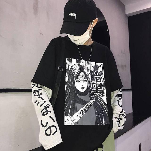 Harajuku Tshirt Streetwear...