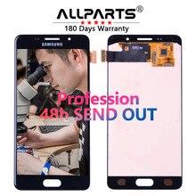 Оригинальный 5.2 «AMOLED ЖК-дисплей для Samsung Galaxy A5 2016 ЖК-дисплей Дисплей A510 A510F a510m sm-a510f Сенсорный экран планшета ЖК-дисплей Замена