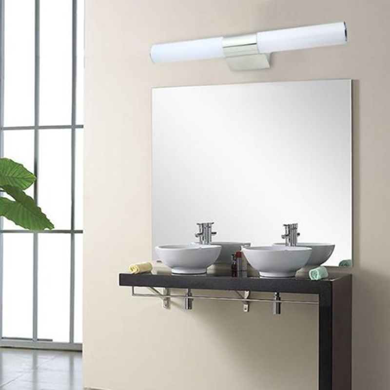 12w Bathroom Led Mirror Wall Light Front Wall Lamp 46cm Waterproof Bedroom Makeup Table Minimalism Fixture