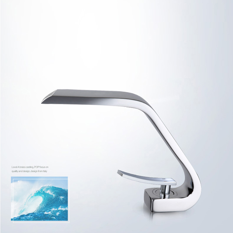 Luxury BAKALA New&hot sales Brass Chrome single handle Bathroom Sink Faucet Mixer Tap Basin Faucet  F6101-11