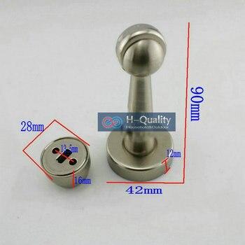 Магнитный дверной замок из нержавеющей стали, длина 90 мм, 2 шт./лот