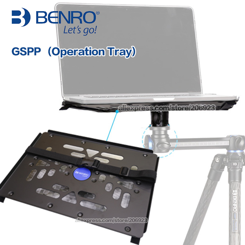 Benro GSPP Laptop Bracket Tripod Accessory Bainuo GoSystem Rack Video Live Monitoring benro s4 video head