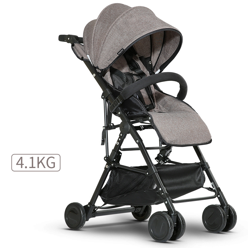 Super Lightweight High Landscape Baby Stroller,Mommy Portable Travel Baby Carriage Newborn Prams,Umbrella Baby Pushchairs folding baby stroller lightweight baby prams for newborns high landscape portable baby carriage sitting lying 2 in 1
