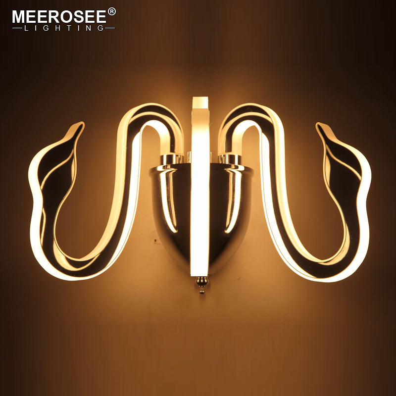 Contemporary LED Wall Light Fixture LED Bedside Wall Lights Bedroom Sconces Aisle Corridor Hotel LED Bra Lamp Luminaire modern acrylic led wall lights bedroom bedside wall lamp lampara de pared bed room decoration lighting wall sconces