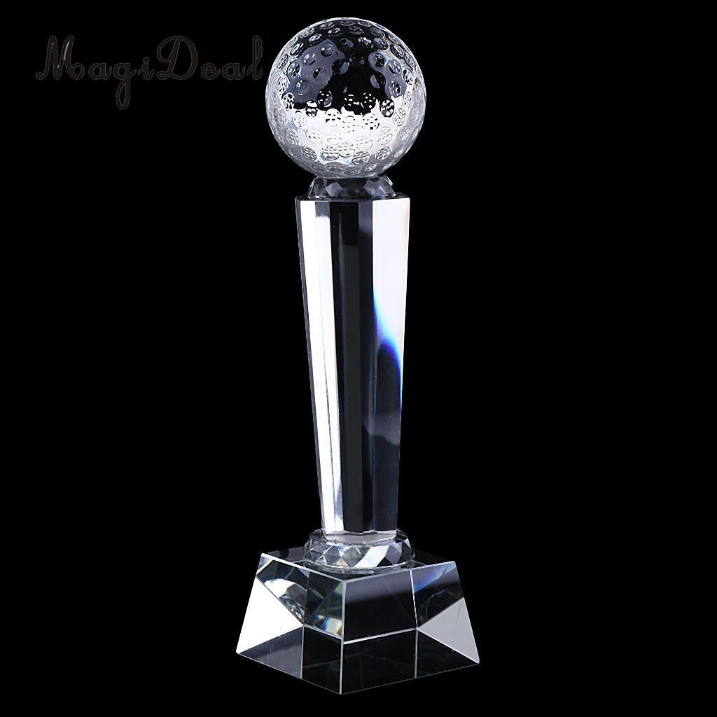 купить MagiDeal Hot Sale 1Pc Customized Crystal Trophy Cup Prize Creative Encourage Souvenir Golf for Home Table Decor Novelty Gift Toy по цене 1638.74 рублей