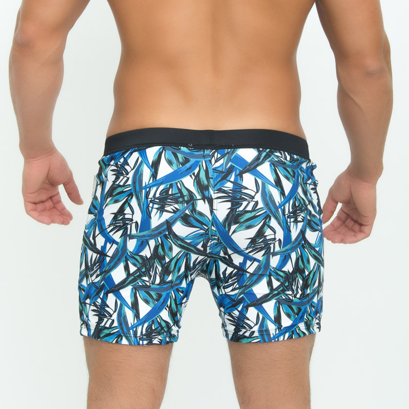 Taddlee Brand Sexy Men's Swimwear Board Beach Boxer Trunks Shorts - Pakaian lelaki - Foto 4