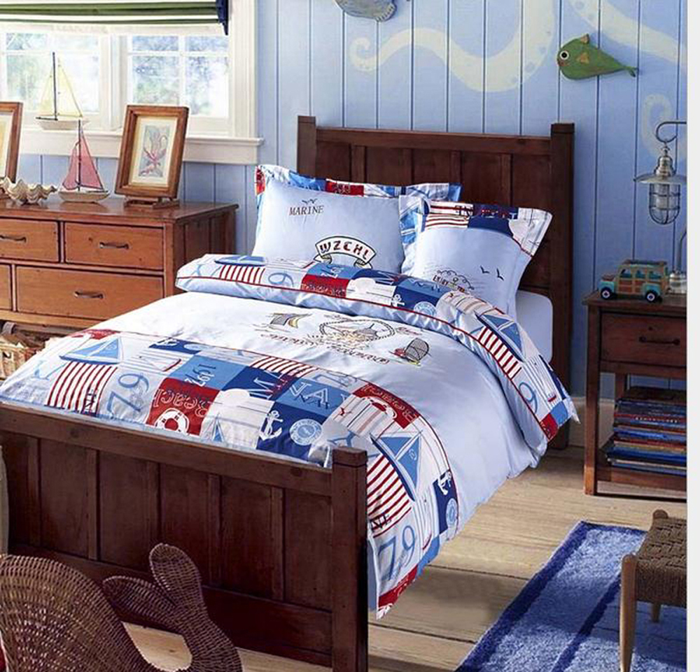 Kids bed spreads - Navigation Embroidery 100 Cotton Minion Bedding Sets Bedspreads Cartoon Kids Bedclothes Duvet Cover Set Bed