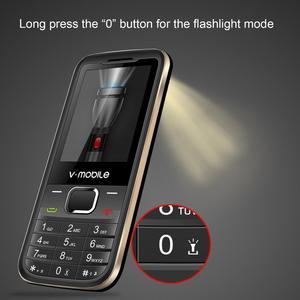 """Image 3 - 2G GSM 2.4 """"Double Sim MP3/MP4 Lecteur Vidéo GPRS Bluetooth 1200 mAh Clavier bouton Débloqué Mobile téléphone Portable débloqué Pas Cher Téléphone"""