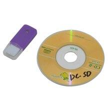 Pcs Alta qualtiy 50 SD TF Leitor de Cartão adaptador conversor com unidade de disco Manual para Sega DreamCast DC