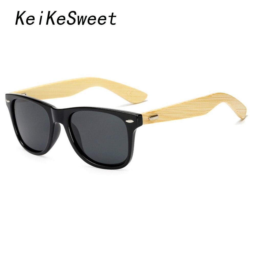 Sonnenbrillen Begeistert Keikesweet Polarisierte Schutz Holz Mann Heiße Kühle Nieten Original Bambus Marke Designer Sonnenbrille Rays Frauen Sport Sonnenbrille Geschickte Herstellung Bekleidung Zubehör