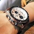 MEGIR Men's Fashion Sports Watches Luxury Top Brand Quartz-Watch StopWatch Waterproof Quartz Wristwatches Men Relogio Masculino