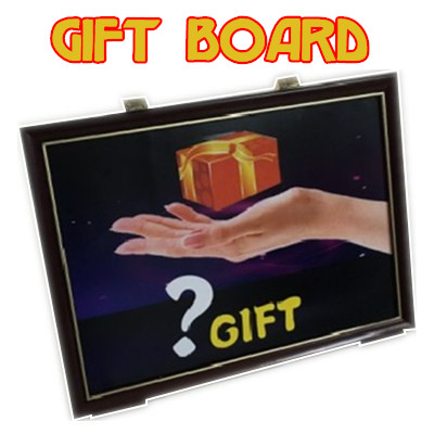 4D Gift Board Trick gift from frame magic tricks magic props