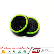 100 pcs/lot Silicone Analog Controller Thumb Stick Grips Cap Cover for Sony Play Station 4 for PS4 Thumbsticks Game Accessories