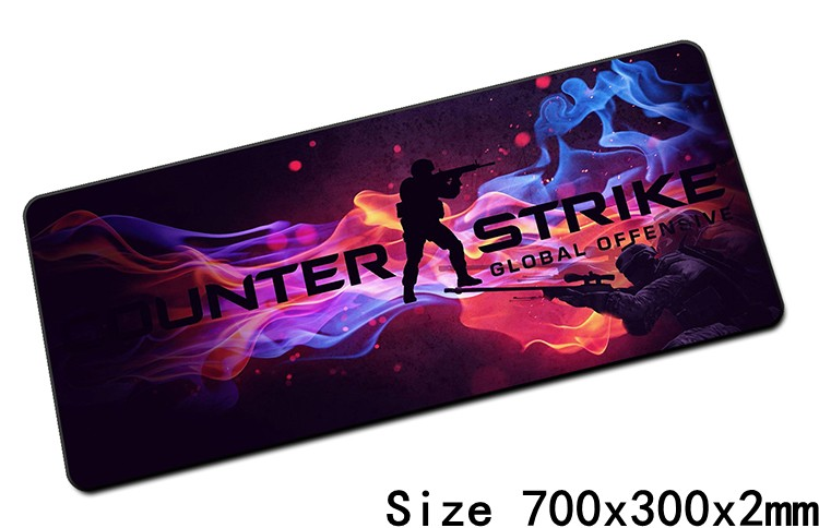 Cs go mouse pads 70x30cm pad to mouse notbook computer for Cs go mouse
