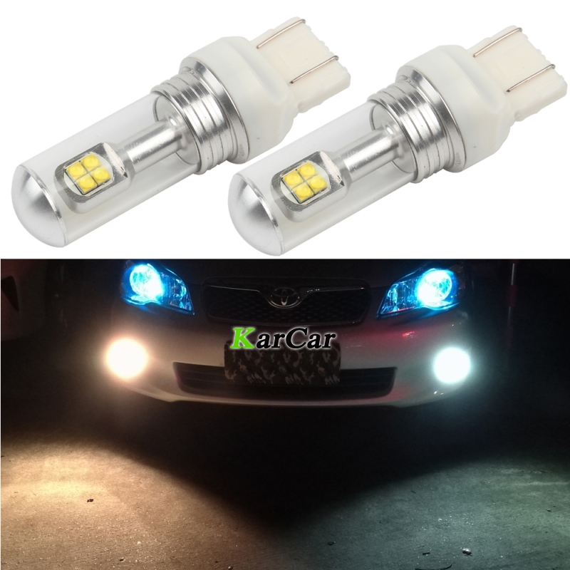 2PCS / Lot Nuevo 40W CREE Chip XBD 572LM T20 LED Luces de freno para - Luces del coche