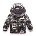Winter Children Boys Jackets Cartoon Camouflage Coat Girls Winter Coat Kids Outerwear Baby Boys/Girls Down Jacket Infant Clothes