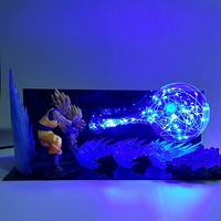 Dragon Ball Z Goku Gohan Father Son Led Night Lights Bulb Lamp Dragon Ball Super Son Gohan Led Lighting Lampara Dragon Ball