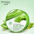 BIOAQUA Natural Aloe Vera Gel Подлинной Акне Печатных Лицо Крем Пополнение Увлажняющий Крем По Уходу За Кожей Уменьшить Поры 220 г