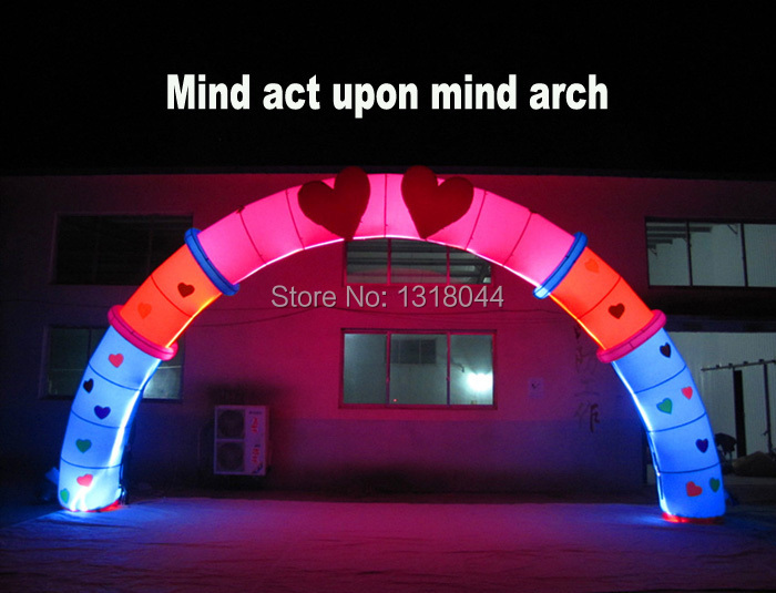Varies designs inflatable led lighting arch wedding decorations varies designs inflatable led lighting arch wedding decorations for sale in party diy decorations from home garden on aliexpress alibaba group junglespirit Image collections